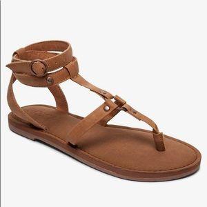 NWT Roxy Soria Sandals Light Brown 8